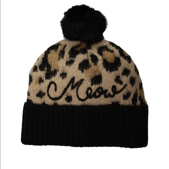 425436e20924 kate spade Accessories | Nwt Leopard Hat | Poshmark